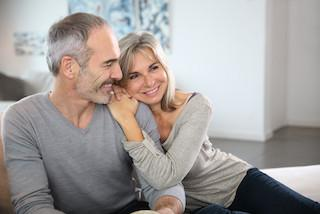 An older couple smiles | Root Canals Wesley Davis DDS