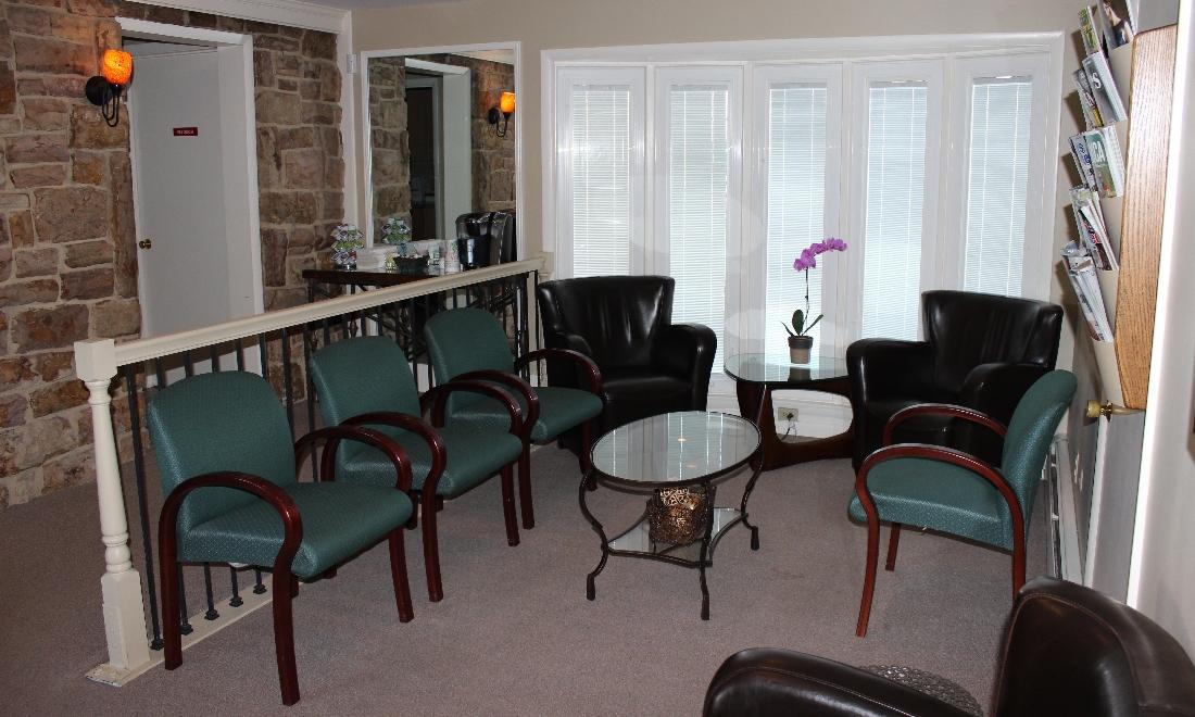 Image of the waiting area at the dental office | Hershey PA